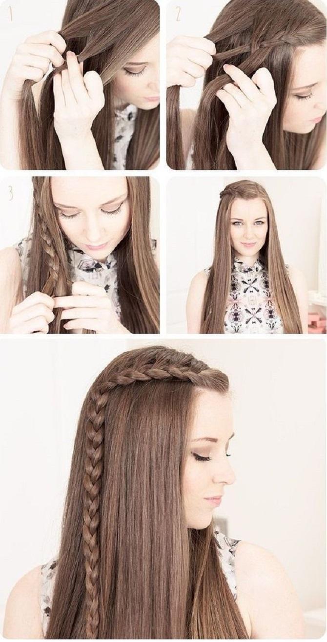 Модні зачіски в школу для дівчаток підлітків: легкі і прості варіанти 16