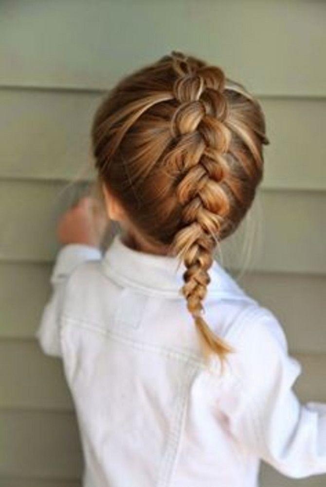 Простые и красивые прически для девочек на 1 сентября 10