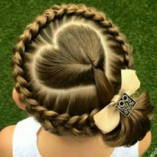 Найкрасивіші зачіски з бантами на 1 вересня 19
