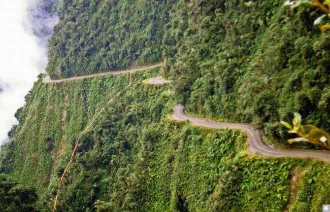 7 самых опасных дорог в мире 2