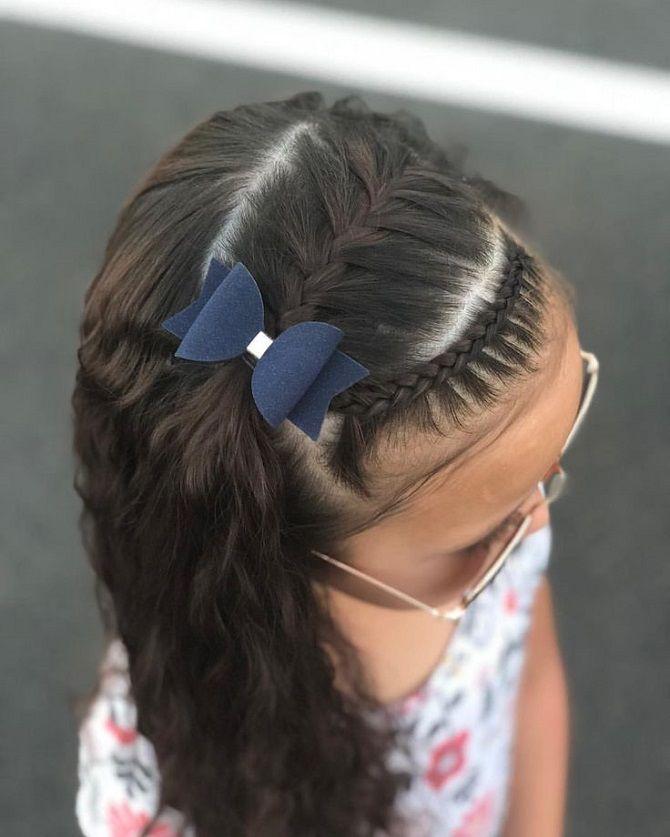 Найкрасивіші зачіски з бантами на 1 вересня 22