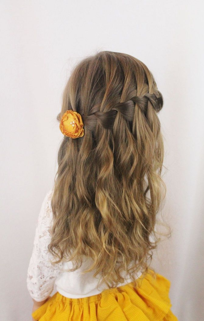 Прості і красиві зачіски дівчинці на 1 вересня 33