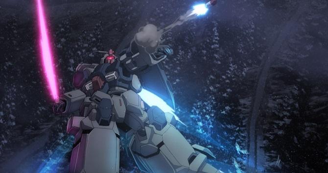 Мобильный воин Гандам: Нарратив – полнометражное аниме о галактических войнах 3