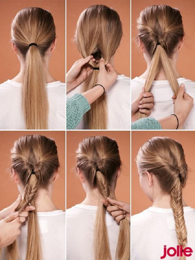 Модні зачіски в школу для дівчаток підлітків: легкі і прості варіанти 30