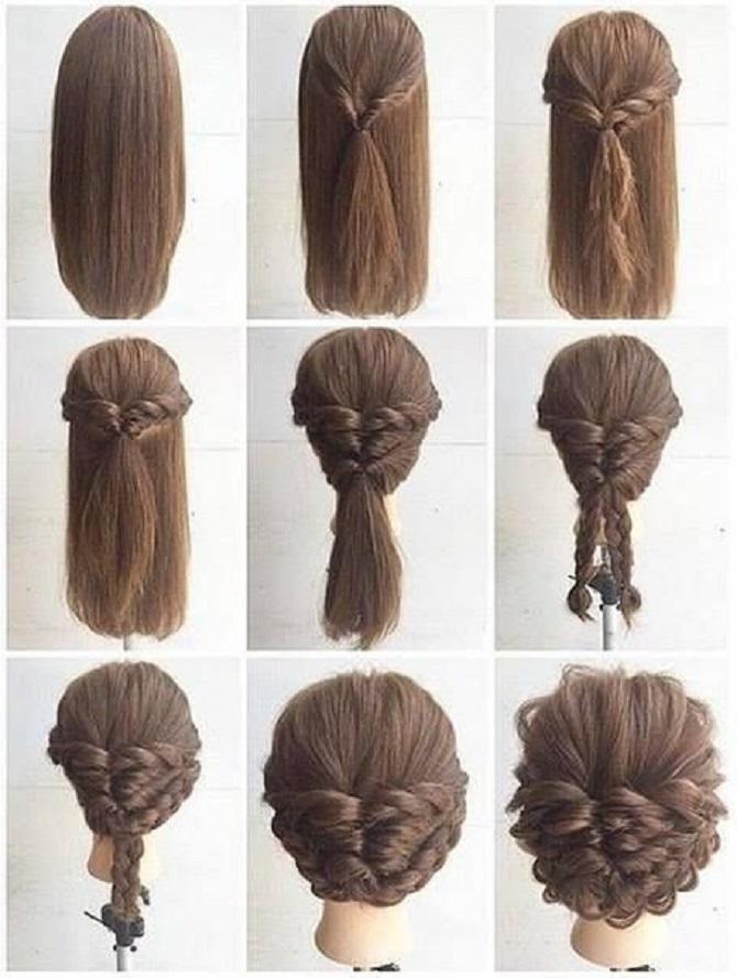 Модні зачіски в школу для дівчаток підлітків: легкі і прості варіанти 33