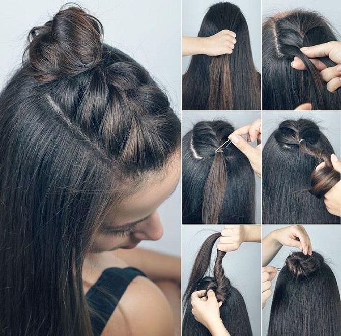 Модні зачіски в школу для дівчаток підлітків: легкі і прості варіанти 27