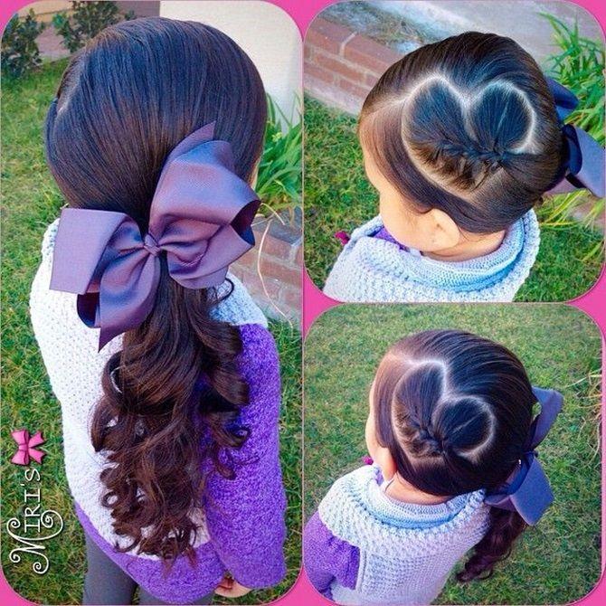 Прості і красиві зачіски дівчинці на 1 вересня 47