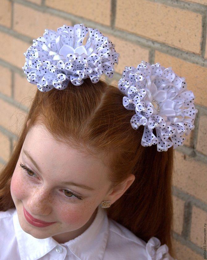 Прості і красиві зачіски дівчинці на 1 вересня 48