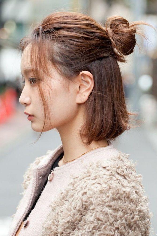 Прості і красиві зачіски дівчинці на 1 вересня 14