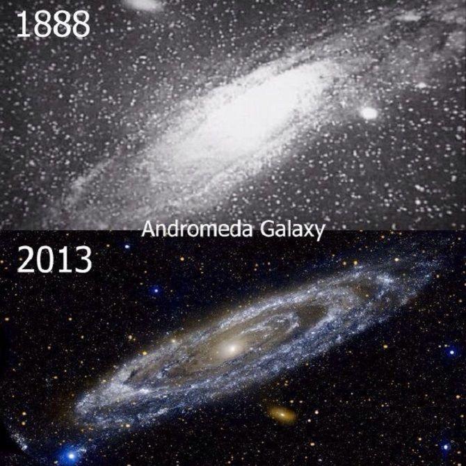 Андромеда на астрофотографії