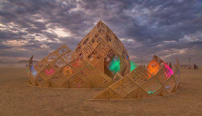 Буря посреди пустыни: фестиваль Burning Man 2019 16