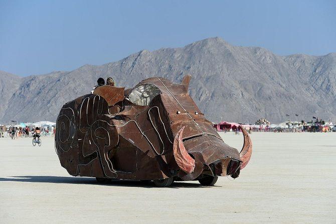 Буря посреди пустыни: фестиваль Burning Man 2019 22