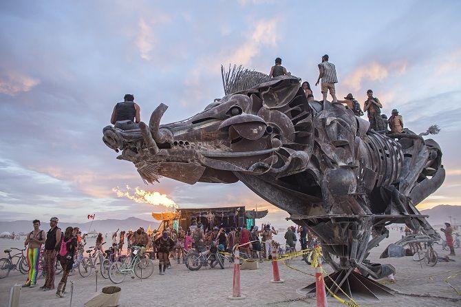 Буря посреди пустыни: фестиваль Burning Man 2019 23
