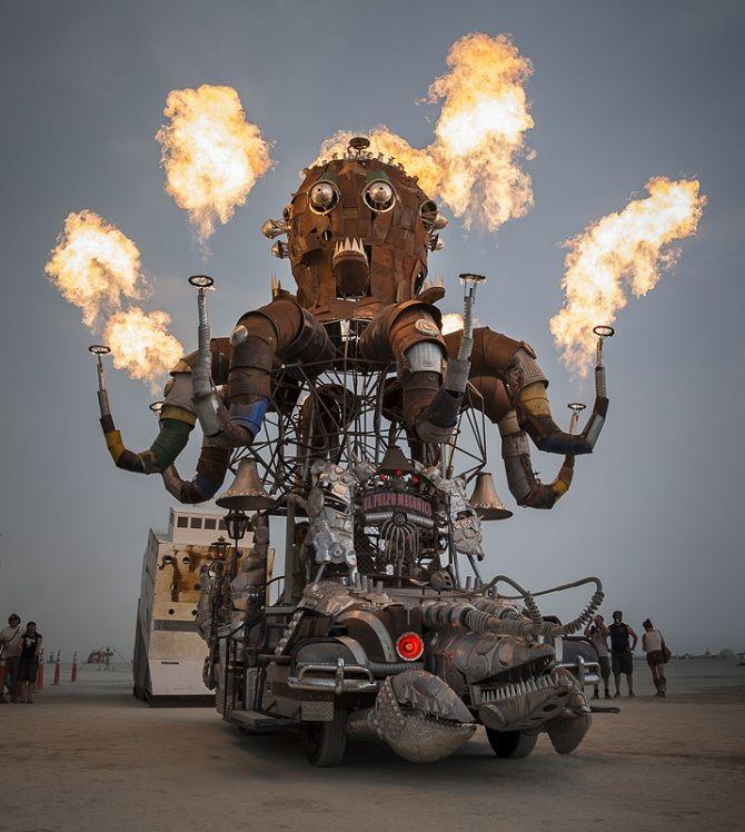 Буря посреди пустыни: фестиваль Burning Man 2019 24