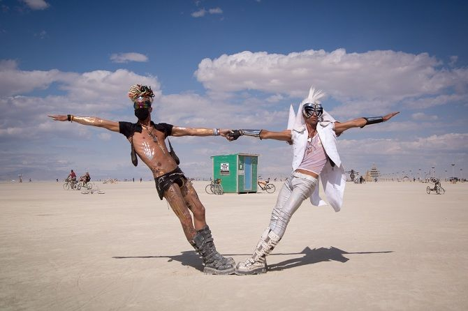 Буря посреди пустыни: фестиваль Burning Man 2019 26
