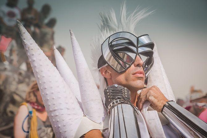 Буря посреди пустыни: фестиваль Burning Man 2019 28