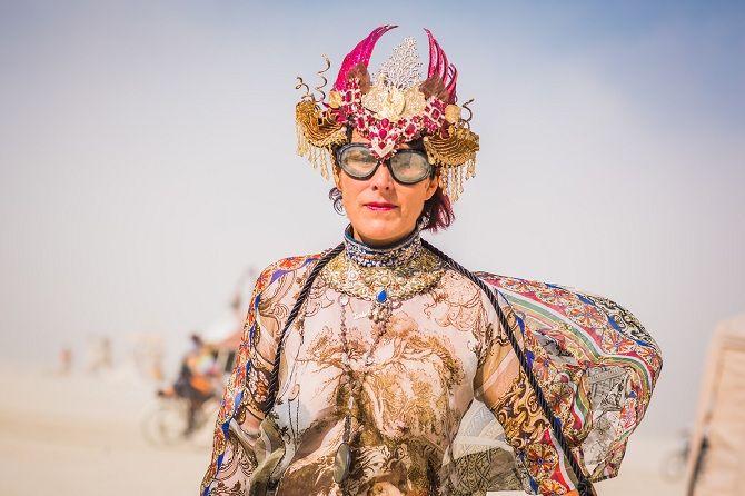 Буря посреди пустыни: фестиваль Burning Man 2019 34