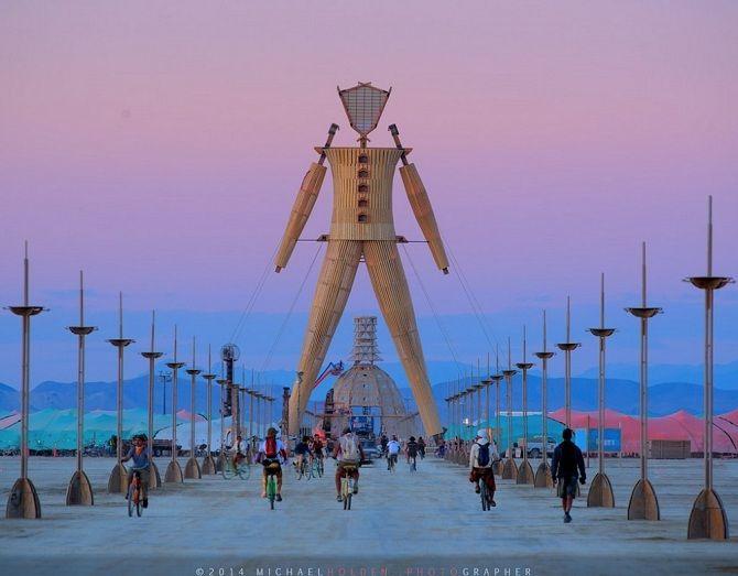 Буря посреди пустыни: фестиваль Burning Man 2019 1