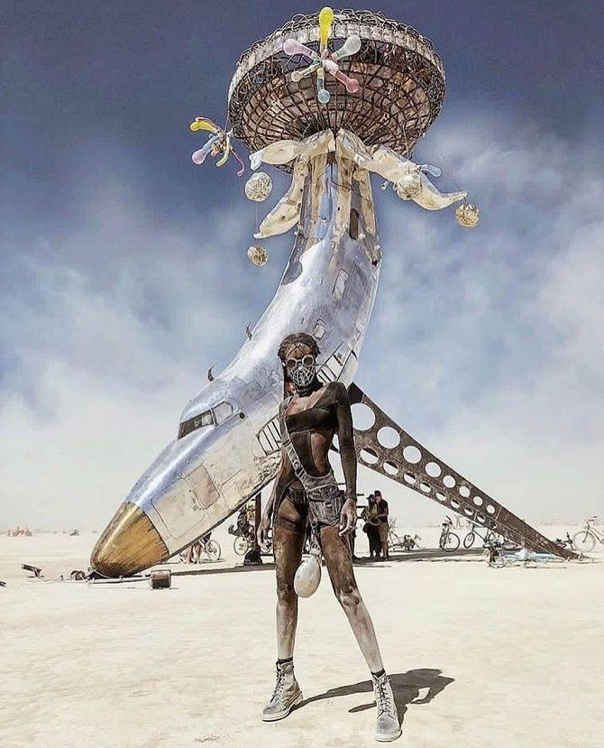 Буря посреди пустыни: фестиваль Burning Man 2019 5