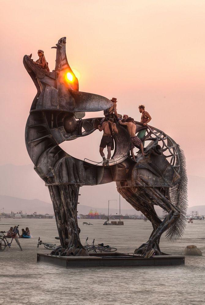 Буря посеред пустелі: фестиваль Burning Man 2019 7