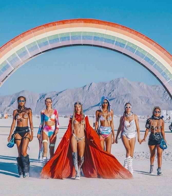 Буря посреди пустыни: фестиваль Burning Man 2019 10