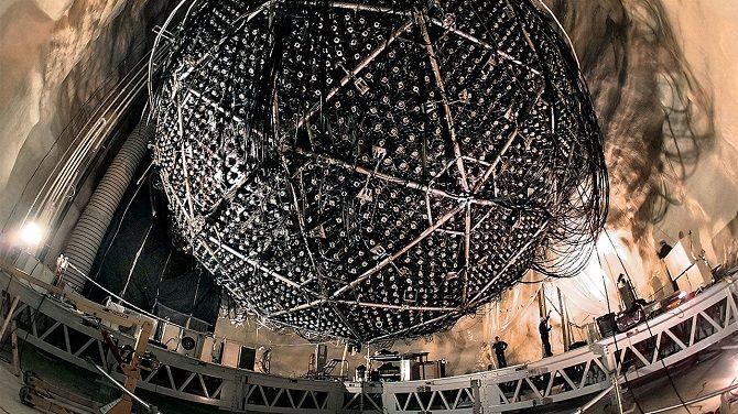 Нейтринная обсерватория в Канаде