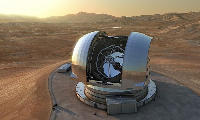 телескоп в Чили