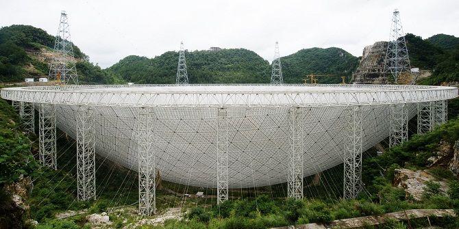 радиотелескоп в Китае
