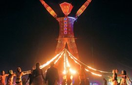 Буря посреди пустыни: фестиваль Burning Man 2019