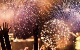 Міжнародний фестиваль феєрверків: фото і відео репортаж