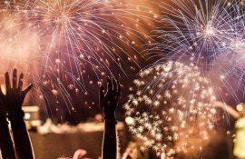 Международный фестиваль фейерверков: фото и видео репортаж