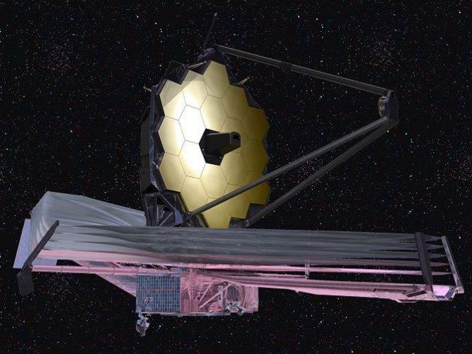 телескоп Джеймса Уэбба  от NASA