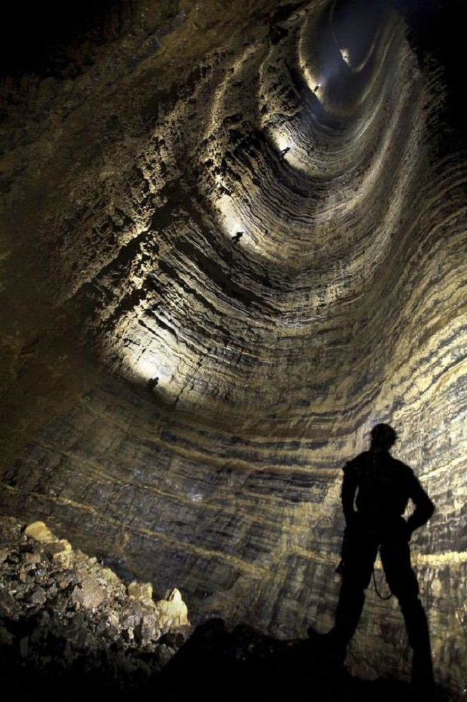 пещера Крубера, Абхазия