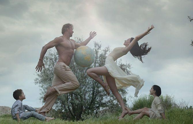 Всемирный день фотографии: праздничная фотоподборка в жанре левитация 23