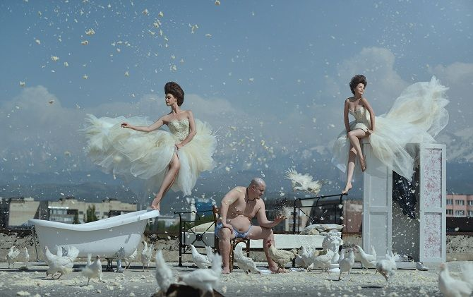 Всемирный день фотографии: праздничная фотоподборка в жанре левитация 8