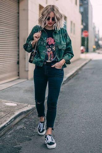 модный лук на осень
