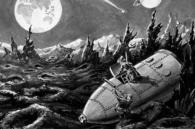 Навколо Місяця Жюль Верн