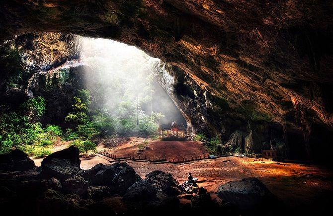 пещера Phraya Nakhon, Таиланд