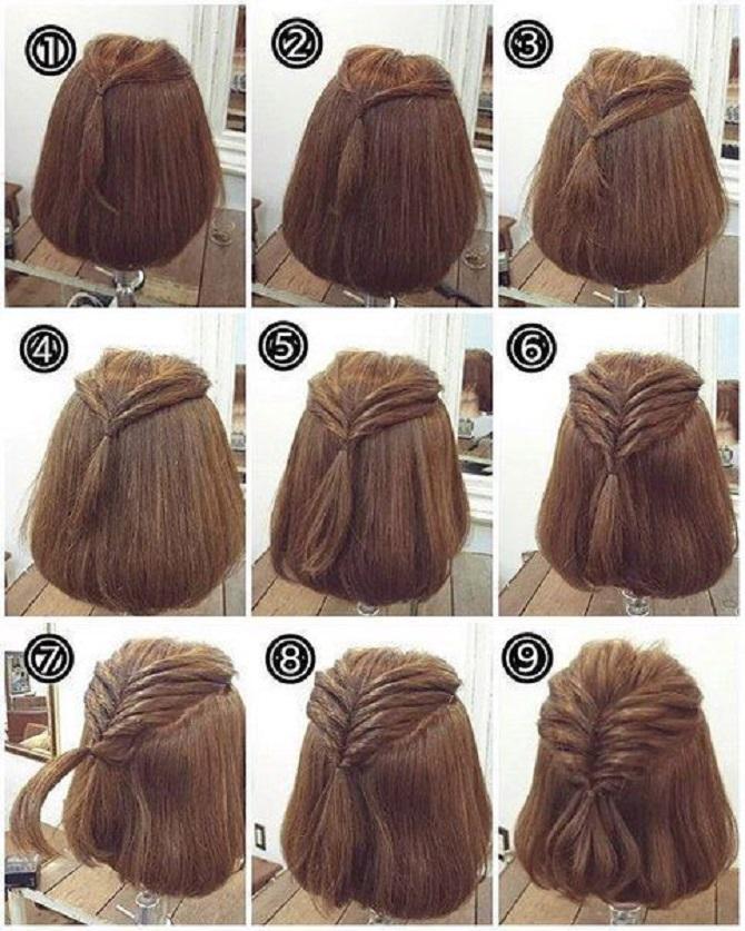 Модні зачіски в школу для дівчаток підлітків: легкі і прості варіанти 29