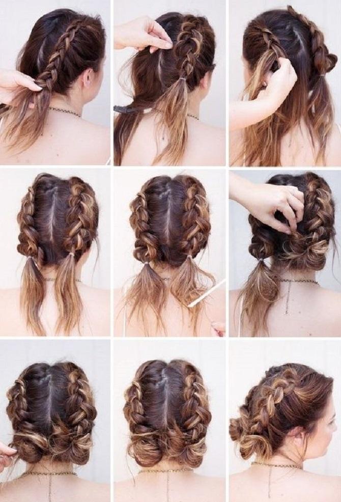 Модні зачіски в школу для дівчаток підлітків: легкі і прості варіанти 34