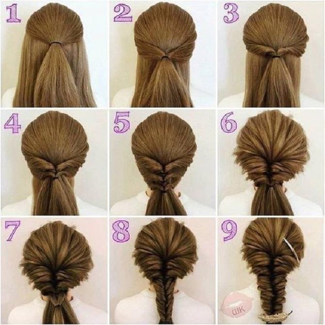 Модні зачіски в школу для дівчаток підлітків: легкі і прості варіанти 31