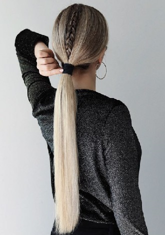 Simple and fashionable school hairstyles for teenage girls 10