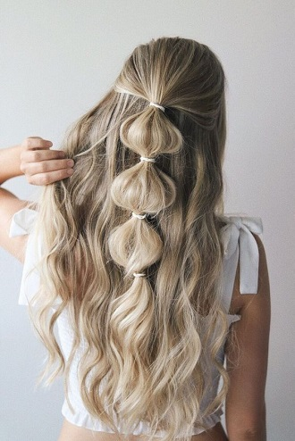 Simple and fashionable school hairstyles for teenage girls 5