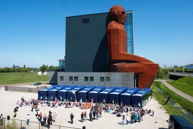 Музей человеческого тела Corpus (Лейден, Нидерланды)