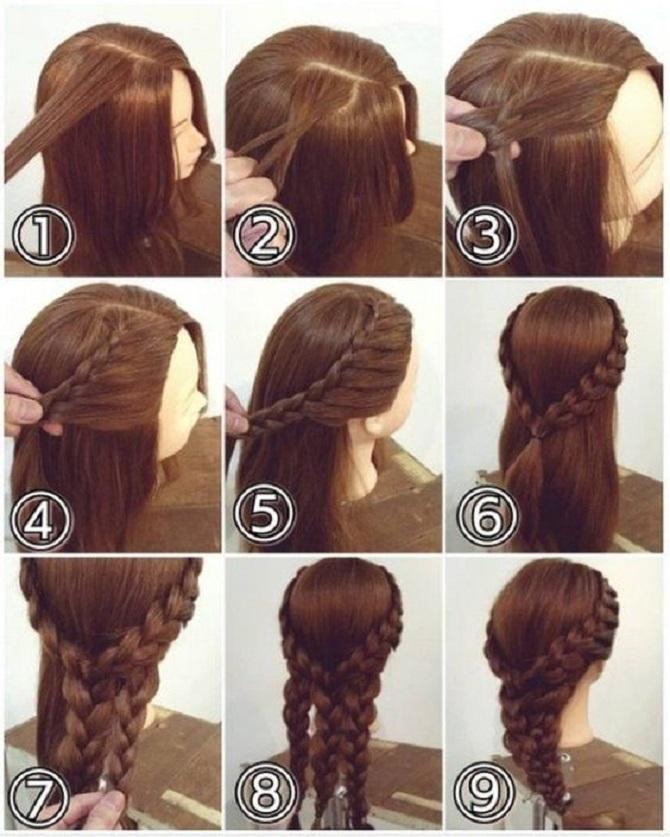 Модні зачіски в школу для дівчаток підлітків: легкі і прості варіанти 32