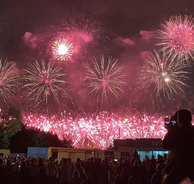 Міжнародний фестиваль феєрверків: фото і відео репортаж 10