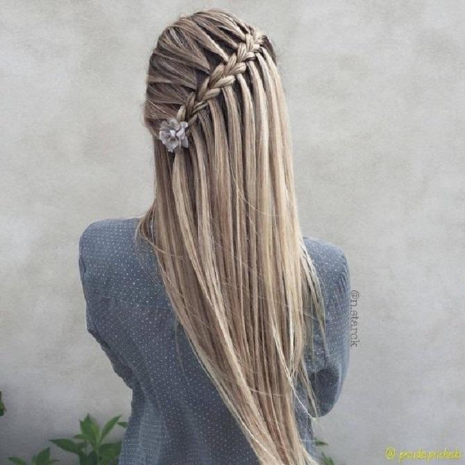 Модні зачіски в школу для дівчаток підлітків: легкі і прості варіанти 15