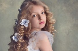Beautiful hairstyles for girls for the first school day