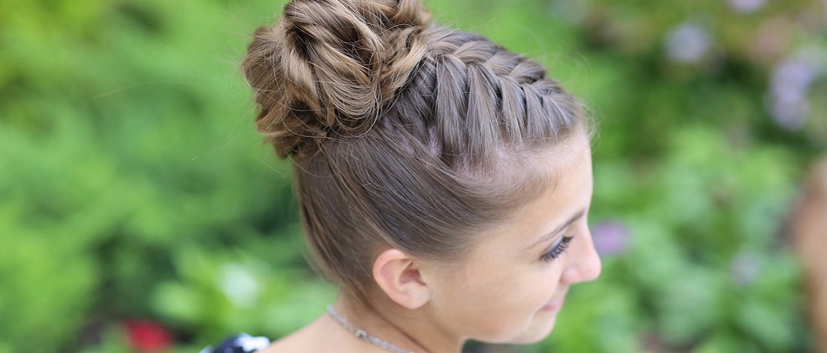 Simple and fashionable school hairstyles for teenage girls