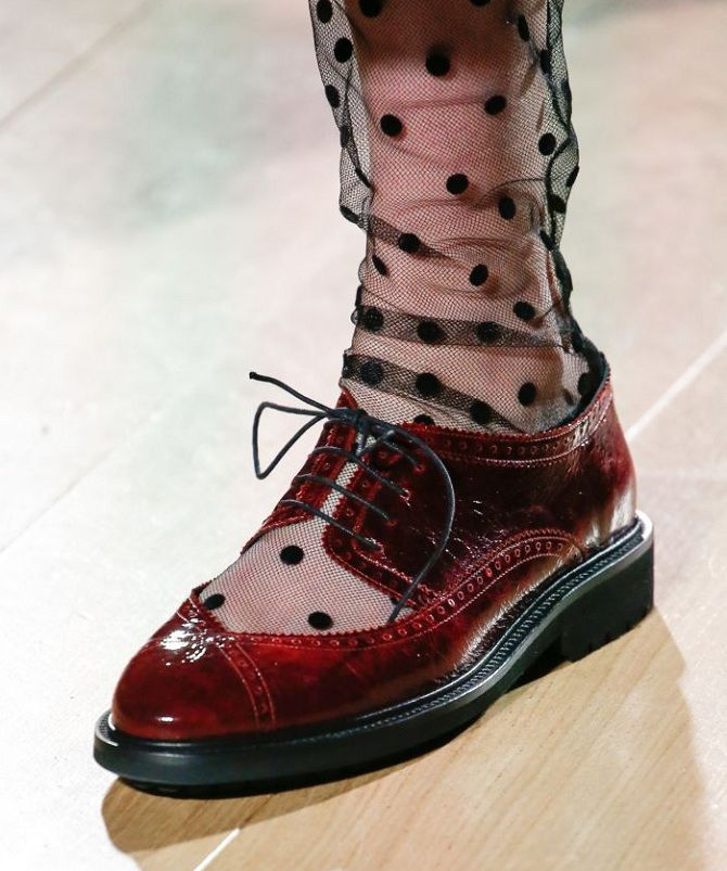 Модні туфлі осінь 2020: від елегантної класики до вишуканої сучасності 19
